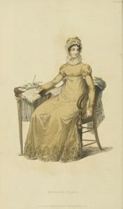 Ser2+v13+1822+Ackermann%27s+fashion+plate+28+-+Morning+Dress