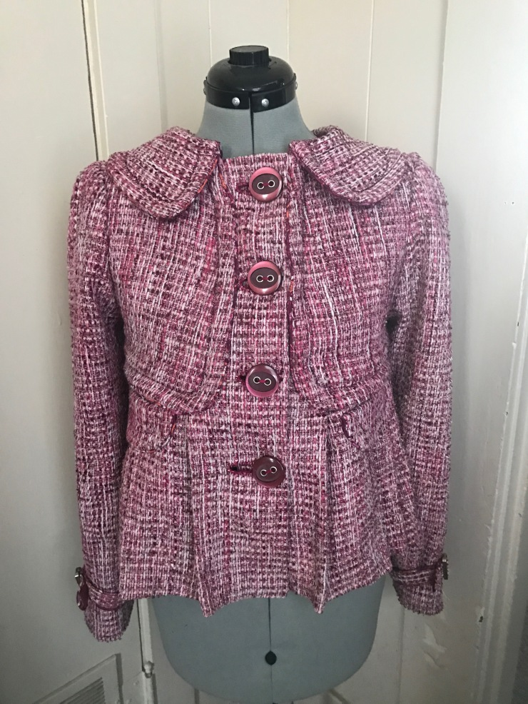 Luna Lovegood Coat  Fabric  Fiction-3782