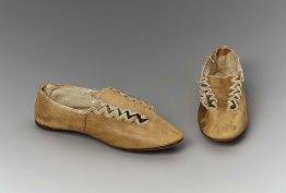 1810-1815 slippers, MFA