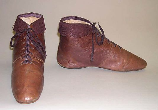 1810-1829 boots, The Met