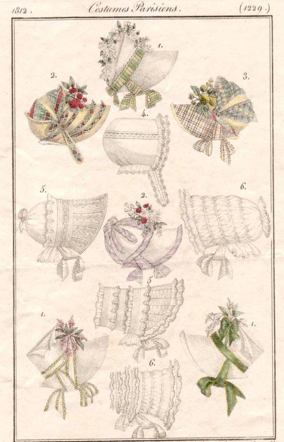 1812 bonnets