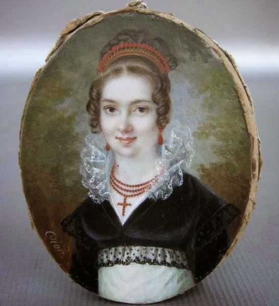 Charles Pierre Cior, Portrait of a lady, ca.1810